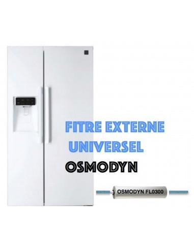 Filtre universel externe réfrigérateur américain