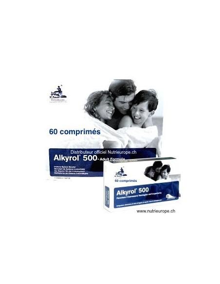 Alkyrol 500, système immunitaire 60cp